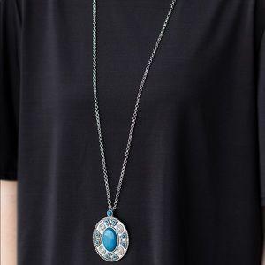 Sunset Sensation blue necklace